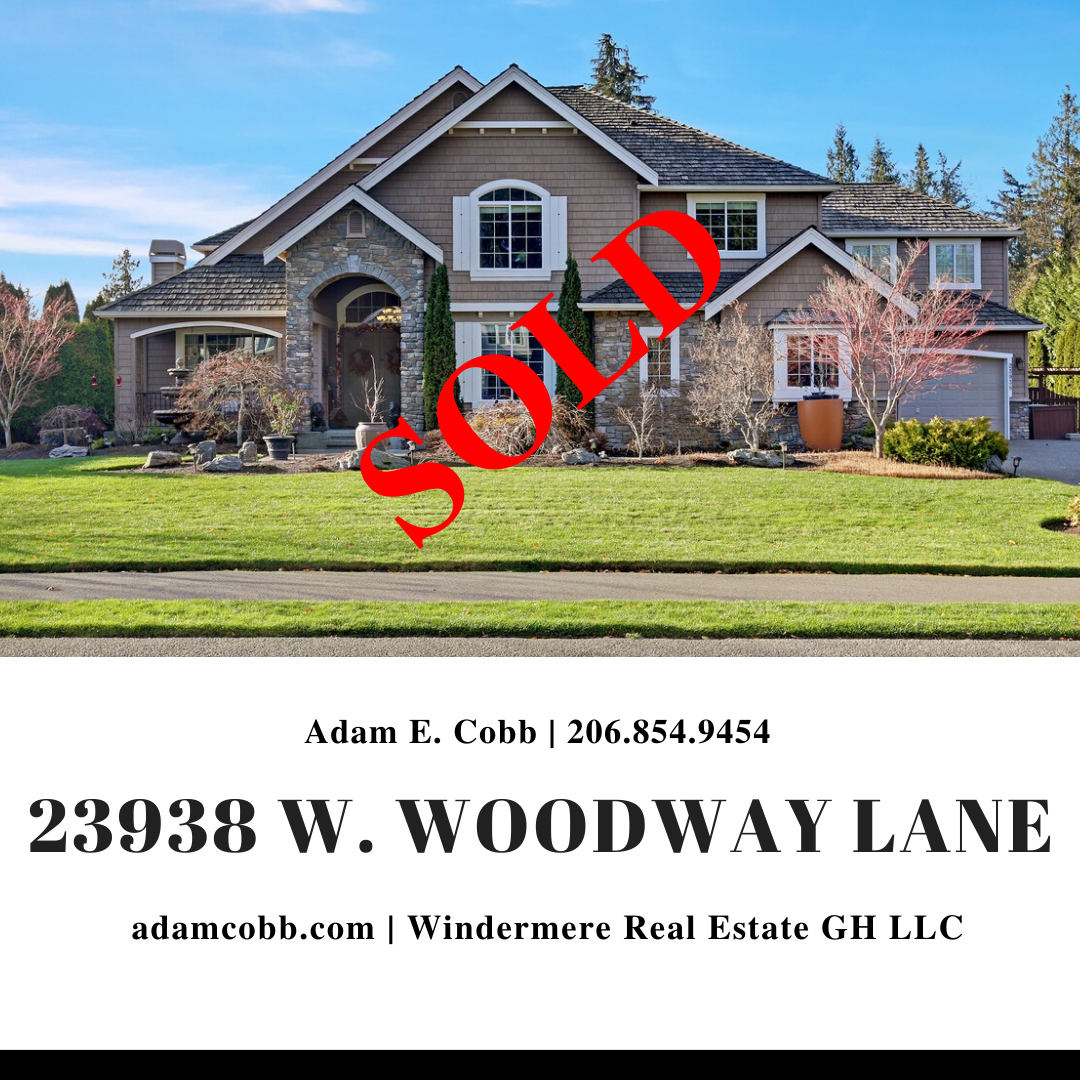 23938 W Woodway Lane IG Post Red Lettering