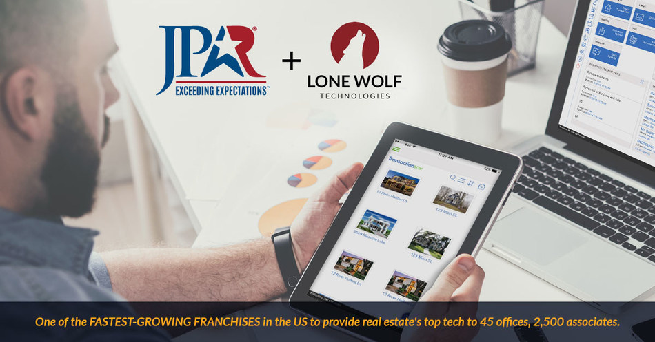JP & Associates REALTORS®, one the fastest growing franchises in the US and the number-one independently owned brokerage in Texas, to provide Lone Wolf Technologies' enterprise platform to 45 offices and 2,500 associates