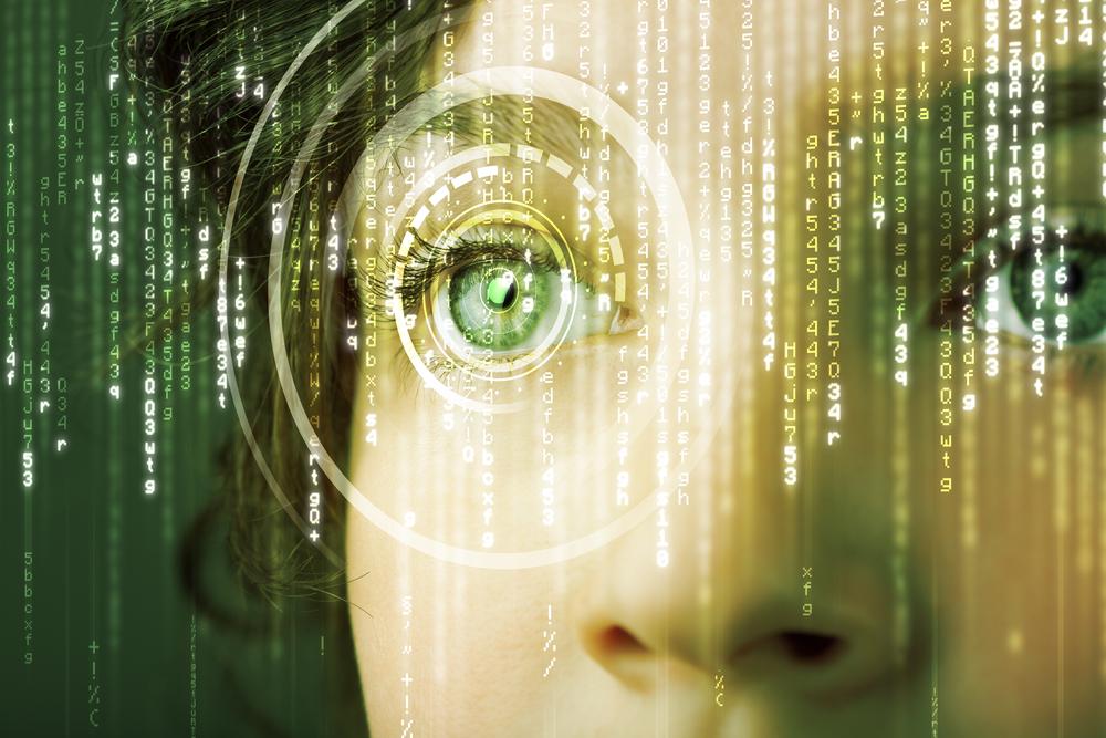 Modern-cyber-woman-with-matrix-eye-concept