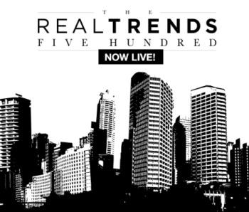 2021 RealTrends 500 is LIVE!