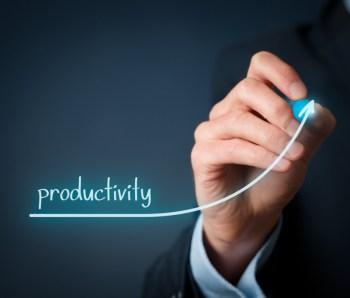 per-agent Productivity increase