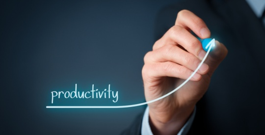 per-agent Productivity increase
