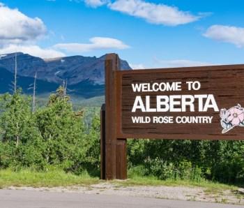 The Real Brokerage Alberta Canada Roadside Sign